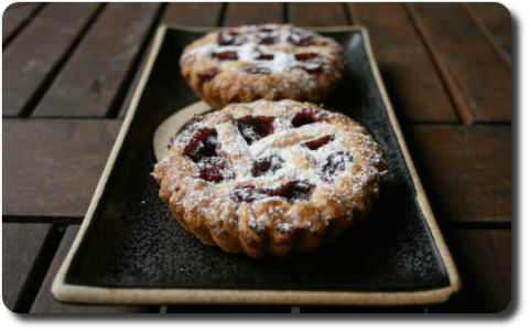 Crostatine aux fruits rouges