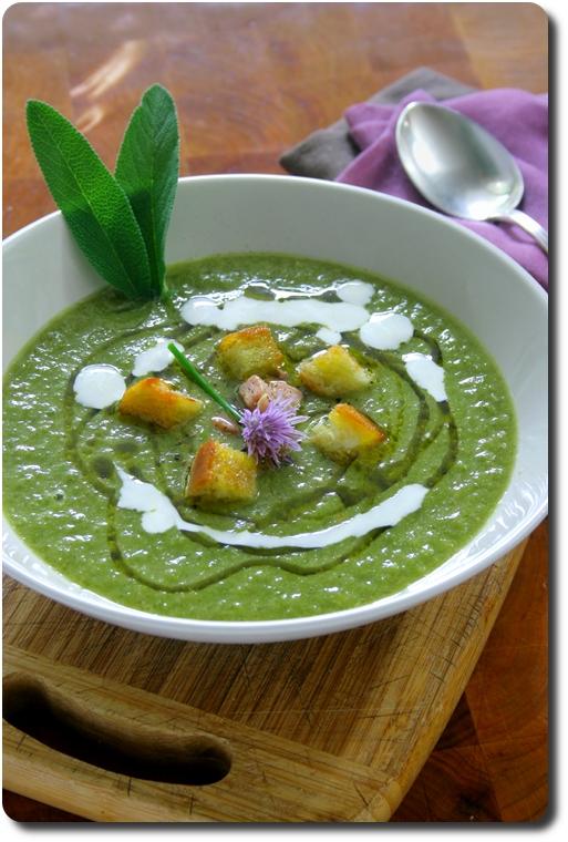 Soupe de laitue en deux versions rustique et velout - Peut on congeler de la soupe ...