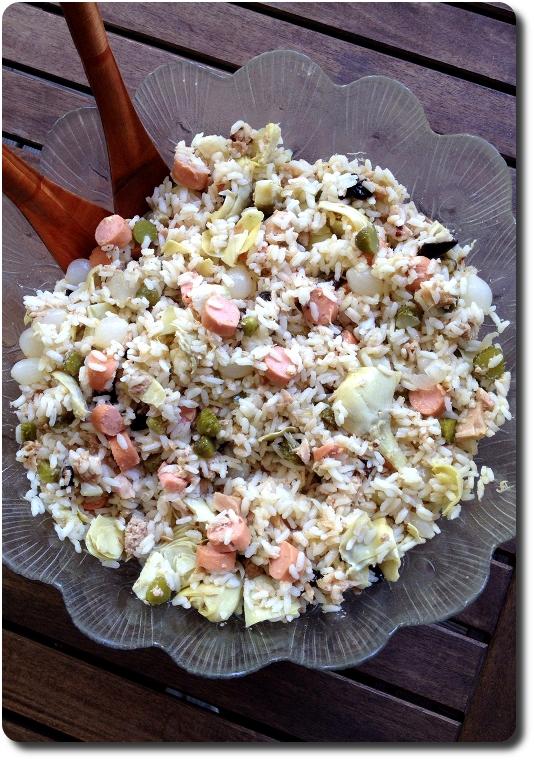 Salade de riz l 39 italienne 5 r gles d 39 or pour la r ussir savoirs et saveurs - Pourquoi on ne coupe pas la salade ...