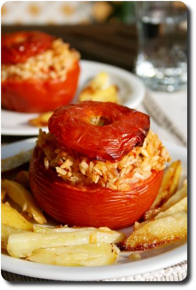 Pomodori al riso tomates au riz la romaine savoirs et saveurs - Cuisine romaine traditionnelle ...