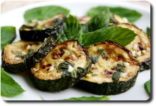 Zucchine a scapece courgettes marin es la menthe fra che savoirs et saveurs - Antipasti legumes grilles ...