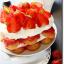 Tiramisù à la fraise parfumé au citron (sans œufs)