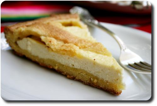Tarte à La Ricotta Zeste De Citron Et Cointreau Savoirs Et Saveurs